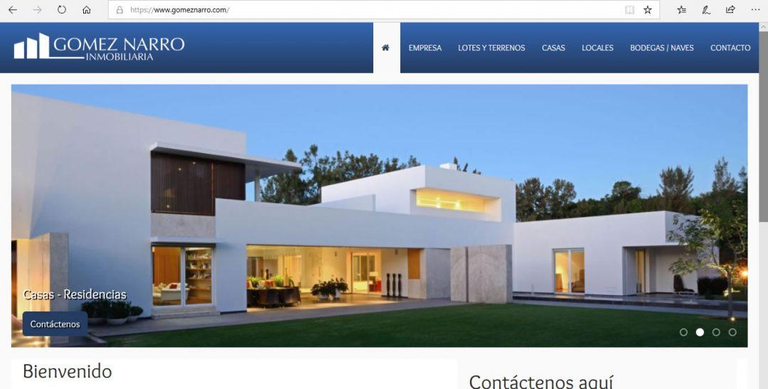 Gomez Narro Inmobiliaria