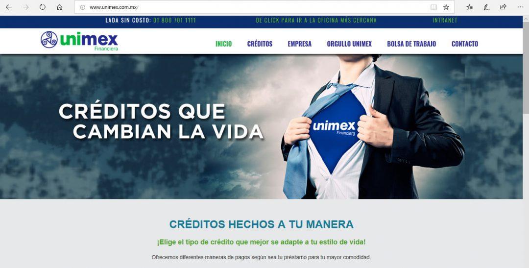 Unimex Financiera